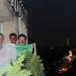38. Paris. incontro Italiani chemiinvitano a vedere la partita