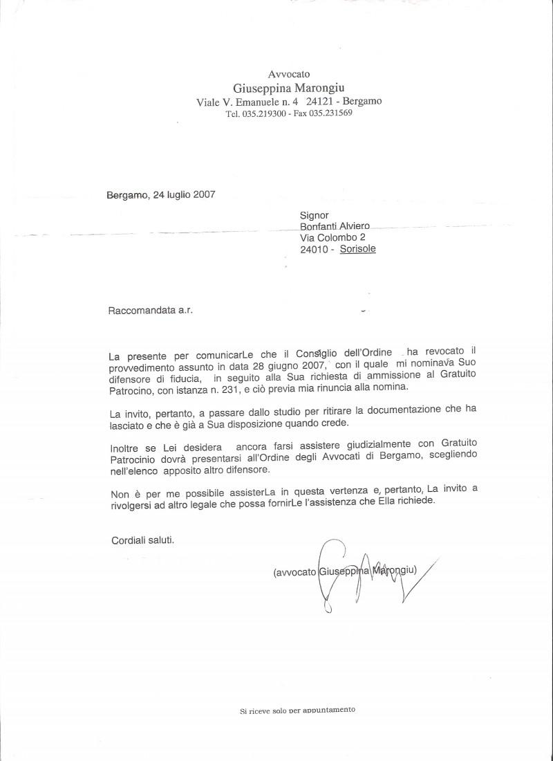 Nuova Legale Bonfanti Oliviero Alviero Alfiero