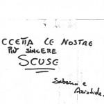 45. scuse