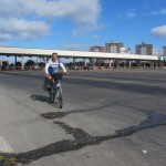 IMG_0783..dall'areoporto faccio 40 km di autostrada in bici verso il Centro