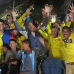 228. IMG_6699. Sucre colombiani in festa ..ottengono la semifinale