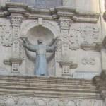 243. IMG_7437. LA PAZ . Chiesa di San Francesco che pare dire madonnna è arrivato pure qui