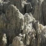 256. IMG_8102. Pedalare sull'altipiano di La Paz ..mi sembra tutto un sogno quasi come se fossi inseirto in un paesaggio lunare