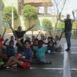 348. Medellin..scuola  all'aperto sotto il teleferico IMG_7945