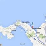 351. Tragitto Panama