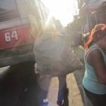 54. IMG_3884..pedalare in Assuncion  è stata una vera impresa (caos traffico, strade strette gente che sale e scende al volo dai bus, asfalto dislevato ecc..)..quasi peggio di Zagabria