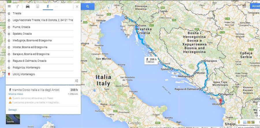 2. Tappe Balcani