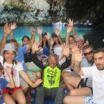 IMG_6576...grotta di Melissani ...come non fare un ola