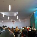 20. Domenica 29 . S Giovanni Bosco festa dell'Oratorio vado a Messa e mi  reco al'altare per la Comunione senza stampelle tuttok ff20160131_113928