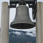IMG_15329. Rovereto.. la Campana della Pace fusa con i cannoni della 1^ Guerra Mondiale