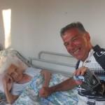 IMG_5783...poi mi reco da Dimitra la molgie del soldato greco che mio padre allora ragzzzo aiutò nel 45