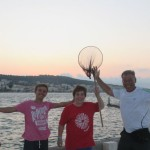 IMG_6487...sulla intermiabile paserella incontro  pescatori di ....frodo