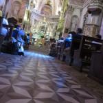 IMG_6306..oggi celebra Don Stefano pure lui in profumo di santità  dato che già da anni ormai ci sopporta..